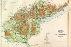 Zala vármegye térképe